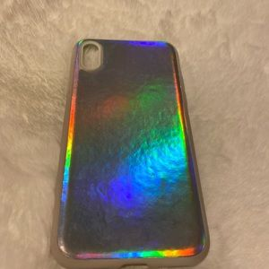 Accessories - holographic iphone x case